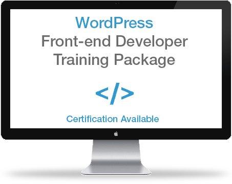 WordPress Front-end Developer Certification Training Package ...